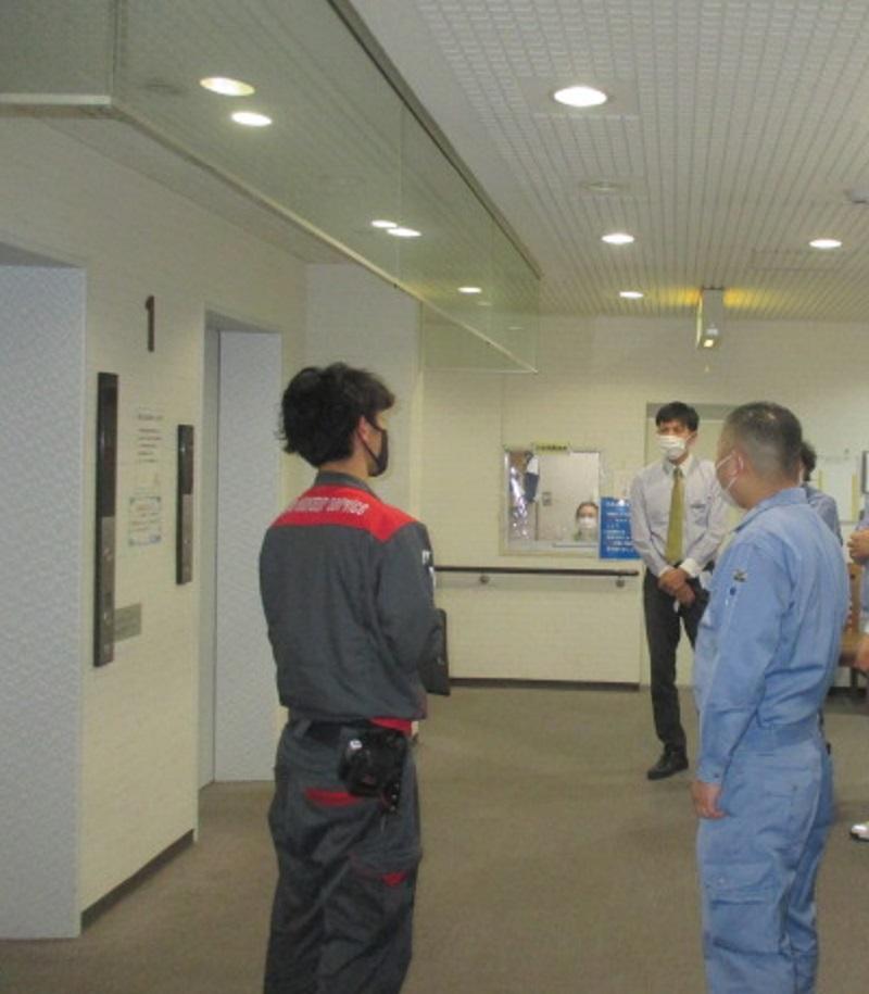 エレベーター停止時の緊急対応講習を開催しました